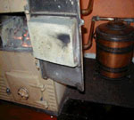 Asbestos rope seal to an 'older' style Rayburn cooker